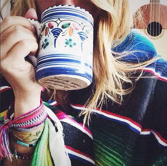Tea and cozy @Volcom blankets! Perfect weekend!  #disfunksionmag #volcom
