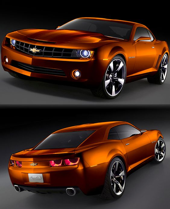 Burnt Orange Camaro 2014