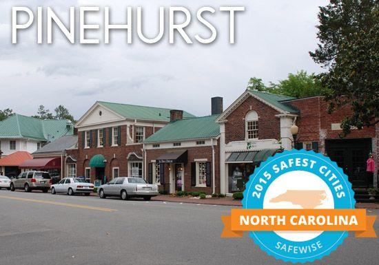 pinehurst is the second safest city in north carolina!