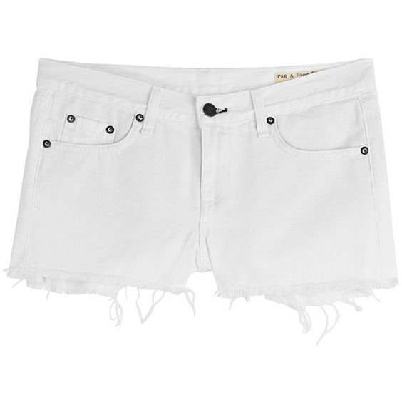Rag & Bone - Cut-Off Denim Shorts found on Polyvore