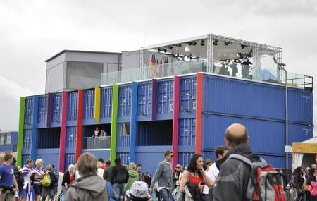 recycled shipping containers