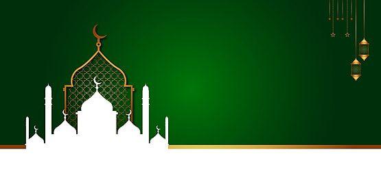 Empty Islamic Background Banner For Isra Wal Miraj Un Nabi With Ramadan Mosque Background Banner Ramadan Background Islamic New Year