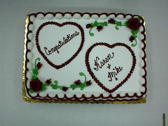 Wedding Cake Decorated With Hearts : cake shower wedding 2 hearts Cake decorating ideas ...