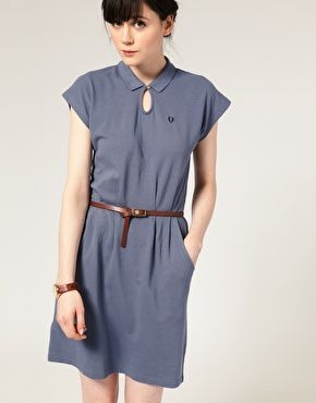 STFU!! Fred Perry Keyhole Polo Shirt Dress | Wear | Pinterest ...