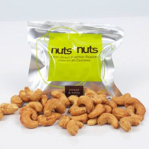 Sweet & Salty Cashews 8 Pack