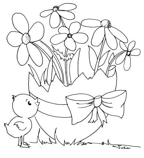 Easter Flower Coloring Pages U2013 Impairco Easter Coloring