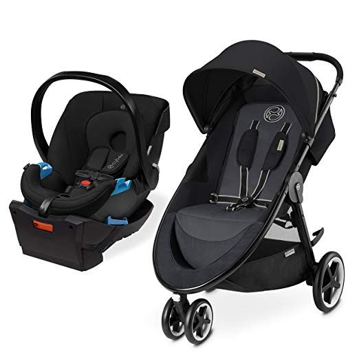 Cybex Agis M Air 3 Aton Aton Base Travel System Moon Dust Review Travel System Cybex Stroller