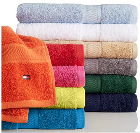 Tommy Hilfiger Bath Towels as low as $3.99!