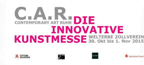 C.A.R. - Contemporary Art Ruhr, 30. Oktober - 1. November 2015, Welterbe Zollverein, Essen
