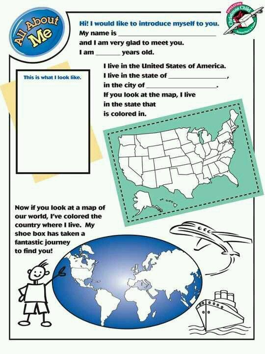 Operation Christmas Child coloring pages for children to include ...