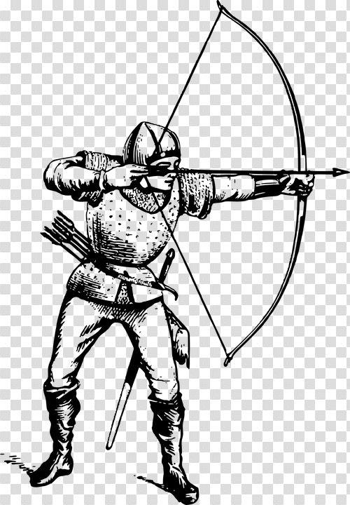 Archer Archery Arrow Free Vector Graphic On Pixabay Digital Arrows Archery Arrows Vector Free