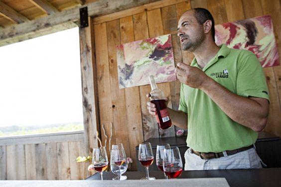 Une balade sur la route des vins est rarement une activité familiale. Sauf au vignoble de La Bauge à Brigham, situé à une douzaine de kilomètres de Cowansville.