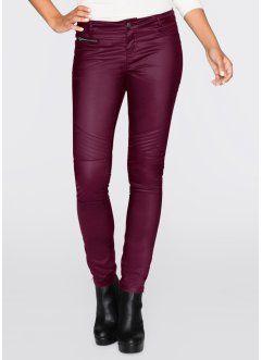 Pantalon, RAINBOW, prune