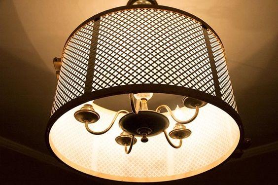 shade knuckle salad s diy diy shade lamp shade fixtures cheap diy drum. Black Bedroom Furniture Sets. Home Design Ideas