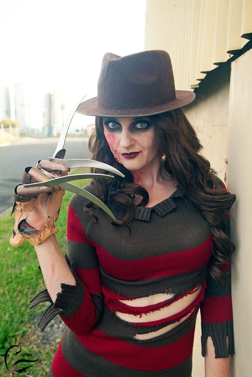 Female Freddy Krueger Cosplay | Freddy Krueger Cosplay | Pinterest ...