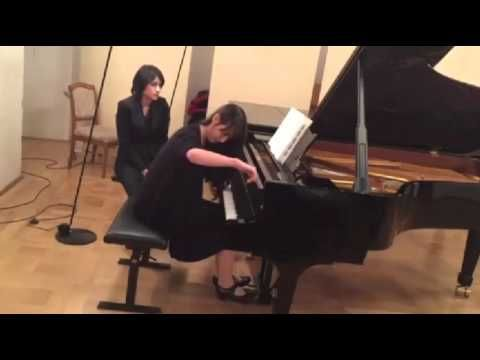 "Frederic Rzewski ""Winnsboro Cotton Mill Blues"" played by Sylvia Kimiko K..."
