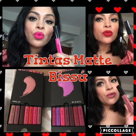 Bissù Nuevas Tintas Matte Reseña y Swaches/ Review Lipsticks Matte Bissú