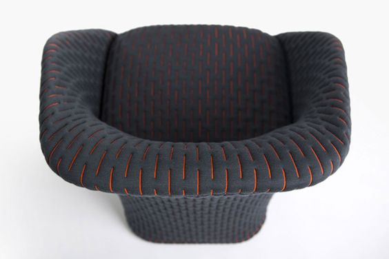 Lounge Sessel Membrane Benjamin Hubert Hwsc   Lounge Sessel Liegen Patricia  Urquiola