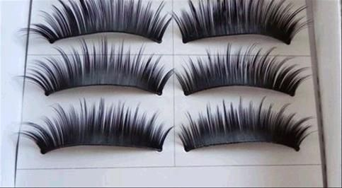 FREE SHIPPING Material: fiber Easy to use, can make your eyes look bright and attractive Suitable for causal or party makeup They can be removed by eye makeup remover Can be reused when applied with care Package Included: 10 Pairs Eyelashes  1 x Glue False Eyelash   019153   +   005268