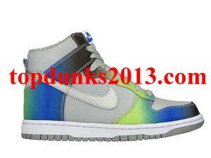 Online Sale Gradient Premium High Top Nike Dunk