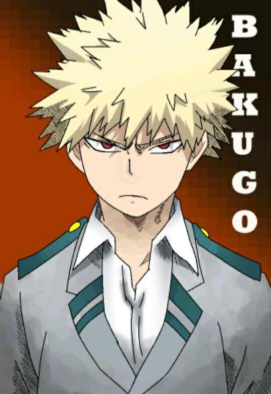 Boku No Hero Academia Katsuki Bakugo Hero My Hero Academia