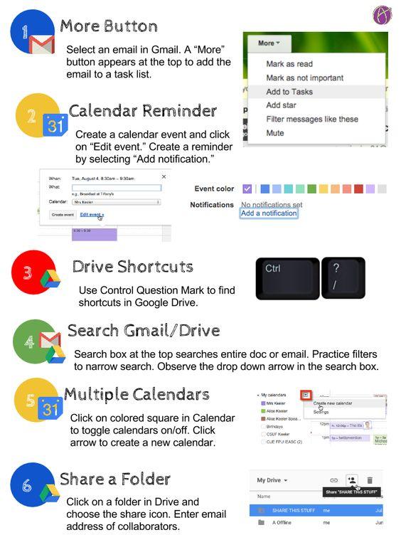 6 Google Tips & Infographic | Teacher Tech | Google it ...