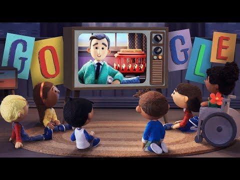 Google Honored Children S Tv Icon Mister Rogers On Friday The Anniversary Of When The First Episode Of Mister Rogers Nei Fred Rogers Mr Rogers Google Doodles
