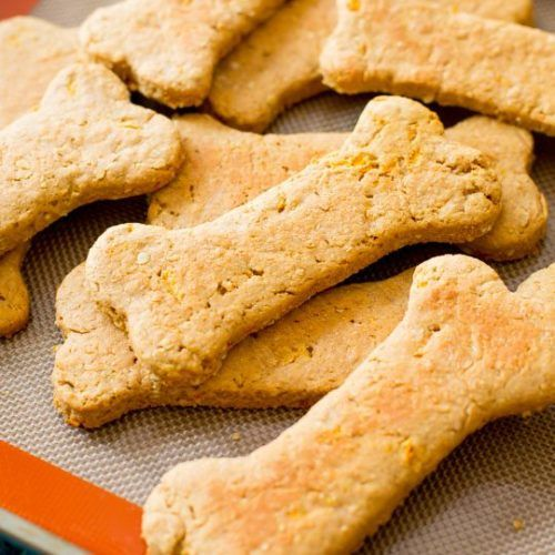 Homemade Peanut Butter Bacon Dog Treats Recipe Dog Biscuit