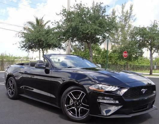 Ebay Advertisement 2019 Ford Mustang Ecoboost Premium 2019 Ford