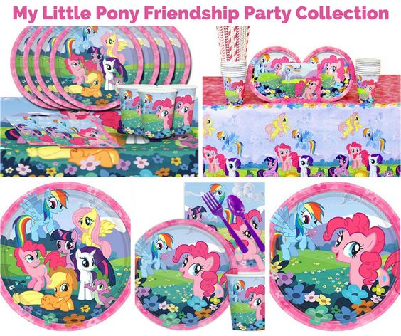 My Little Pony Friendship Party Banner