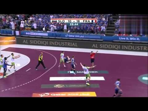 Slovénie VS France quarter-final Championnat du Monde de Handball 2015 H...