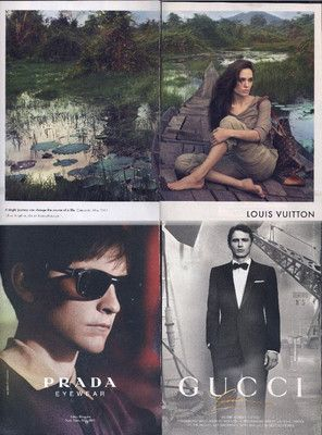 LAST MINUTE REVISION ANGELINA JOLIE AND TOBY MAGUIRE AND JAMES FRANCO PRINT ADS SAME PRICE $3.99 ENDS SOON