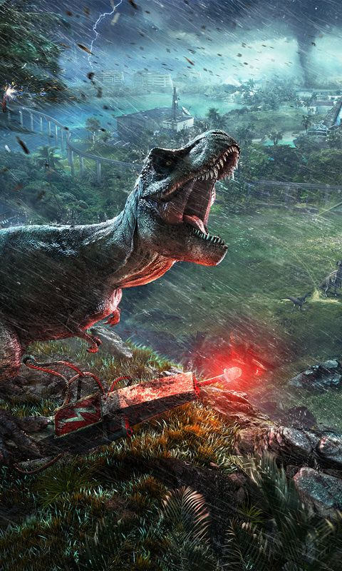 2018 Jurassic World Evolution 4k Wallpaper For Iphone And 4k Gaming Wallpapers For Laptop Download Now For Free Hd Jurassic World Dinosaur Wallpaper Jurassic