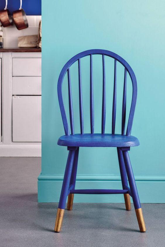 Estilo de silla y manera de pintar