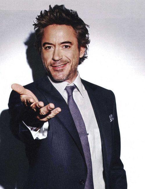 Iron Downey Jr Man