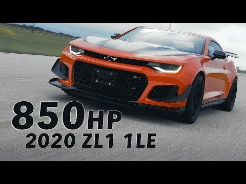 Hennessey 2020 Zl1 1le In Action Youtube Chevrolet Camaro Zl1