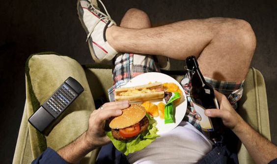 Britain is a nation of COUCH POTATOES: Half of us fail to do ANY exercise