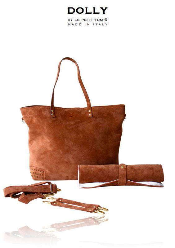 baby bag, diaper bag, luiertas, exclusieve luiertas, made in italy, leather diaper bag   Le Petit Tom ®