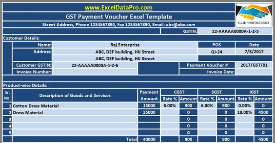 Useful Excel Templates To Assist You In Preparing Federal Income - payment voucher sample