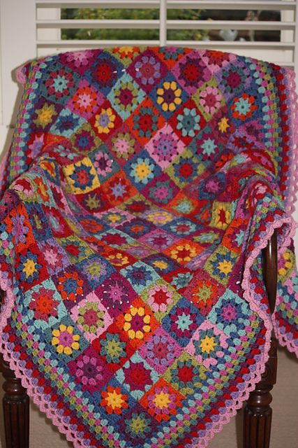 Attic 24's summer garden square turned into a beautiful blanket