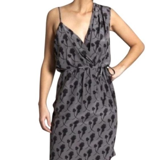 NWT Sariah Dress limited edition from Barneys NWT Sariah Limited Edition Asymmetric Print Dress in size 2   $650   100% silk   Dry clean only Sariah Dresses Backless