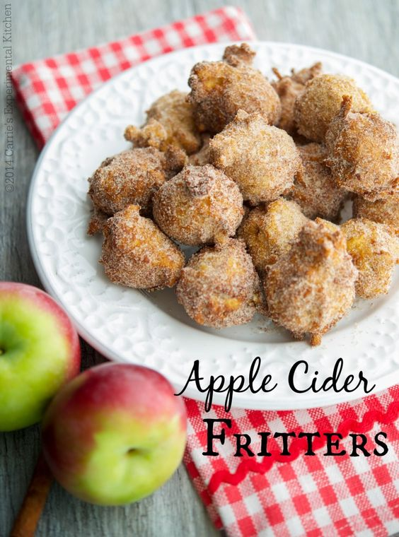 Apple Cider Fritters - Carrie's Experimental KitchenCarrie's Experimental Kitchen