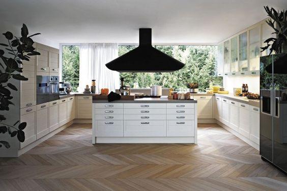 KitchenCharming Elmar Kitchen Furniture Island Floor Contemporary - Contemporary kitchen with modular work island el_01 by elmar