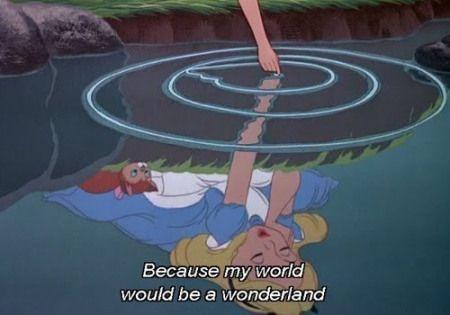 From Disney's Alice In Wonderland