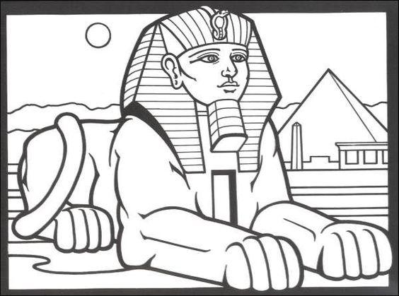 Sphinx Line Art
