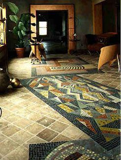Mosaic Artwork by George Fishman Homepage