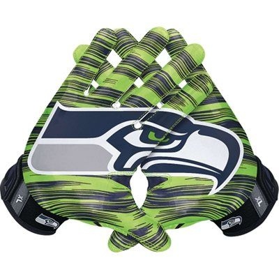 Seattle Seahawks Nike NFL Vapor Jet 3.0 Authentic Gloves ...