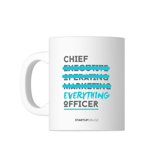 Chief Everything Officer Mug - Startup Drugz