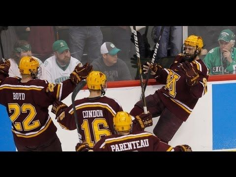 """""""Never Had it So Good"""" Gophers in Frozen Four! 2011 and 2012 year"""