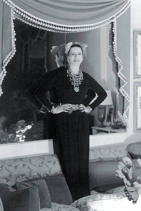 The chic interior designer both Diana Vreeland and Grace Kelly loved - read more here.